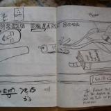 Study /sketch for Mannikin Dreams: