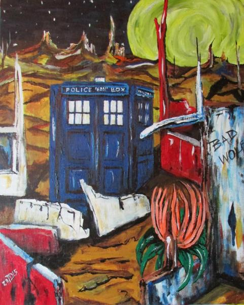 Another TARDIS Night Within a Land Forgotten