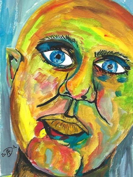 Artist - A Self Portrait