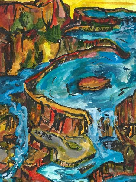 Land of Falling Water