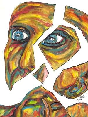 Disintegration of identity #6