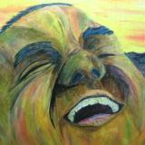 The Laughing Man II: An Artist Self Portrait.