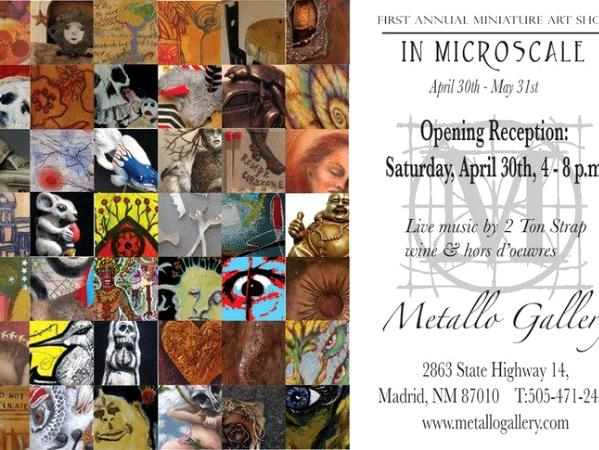 In Microscale: The first annual miniature art show at Metallo ga