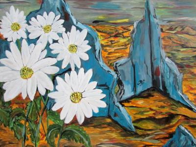 """Daisys within the Rubel of Lifes Once Lived, """"Say Welcome Home – to Nobody."""""""