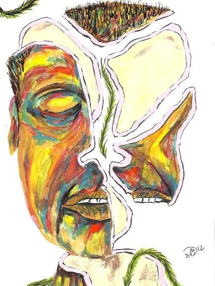 Disintegration of identity #32