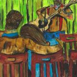An evening with David Johnson... Cafe Zippy 3.4.16