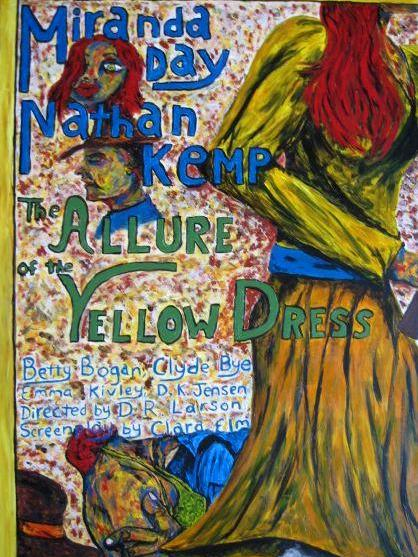 The Allure of the Yellow Dress.  (Destroyed/Painted over by artist -2014)