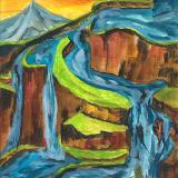 Falling Water # 4: The earths' heartbeat