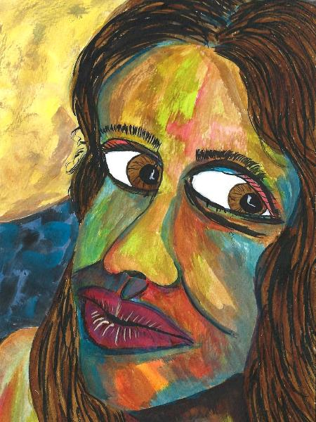 Her midnight tears echo the sad barking of sea-lions