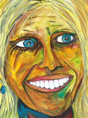Artist Series. Artist #2: Matilde Alonso Salvador Artist and friend.