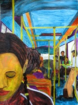 Bus Ride Meditation (Musician, Jill Stevenson).