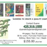 Get your Chapbook Published
