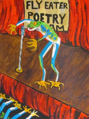 Fly Eater Poetry Slam